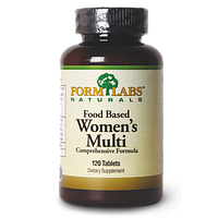FORM LABS Naturals Food Based Women's Multi 120 tab.