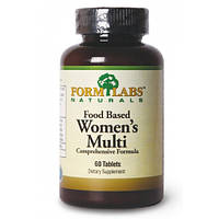 FORM LABS Naturals Food Based Women's Multi 60 tab.