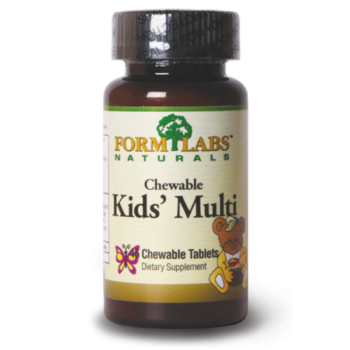 FORM LABS Naturals Kid's Multivitamin 45 chew tab