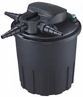 Напорный фильтр с обратной промывкой AquaNova NBPF-15000 УФ-лампа 24Вт (для пруда до 15000л)