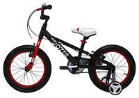 """Велосипед 16"""" RoyalBaby BullDozer черный"""
