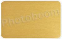 Металлическая пластина для сублимации, темное-золото матовое