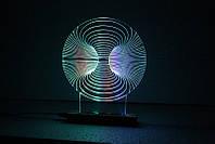 """3D светильник-ночник """"Грамофон"""", фото 1"""