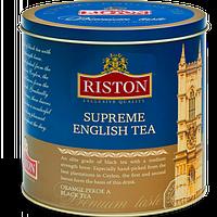 Ристон Английский Суприм 300г Ж\Б черный чай крупнолистовой