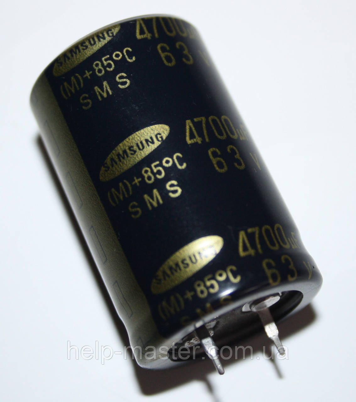 Конденсатор электролитическийм 4700мкф-63v