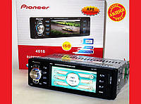 "Автомагнитола Pioneer 4016 - 4,1"" LCD TFT USB+SD DIVX/MP4/MP3, фото 1"