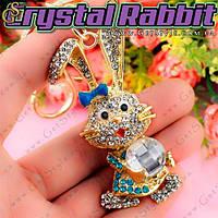 """Брелок Хрустальный зайчик - """"Crystal Rabbit"""""""