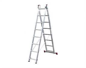 Лестница раскладная 2-х секционная Krause Corda 2x11
