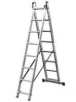 Лестница раскладная 2-х секционная Krause Corda 2x8