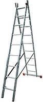 Лестница раскладная 2-х секционная Krause Corda 2x9