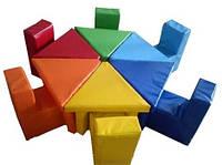 Комплект детской мебели Цветик Kidigo  (MMKZ)