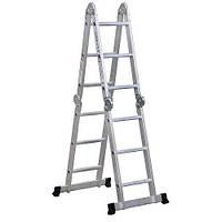 Многофункциональная шарнирная лестница-стремянка Virastar Acrobat 4x3 AK011