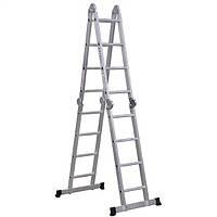 Многофункциональная шарнирная лестница-стремянка Virastar Acrobat 4x4 AK016