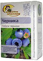 """Чай травяной Секрети знахаря """"Чорниця"""" 75г."""