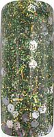 Акриловая пудра цветная для дизайна ногтей 15 гр,Про формула,Цвет:Зеленый лес, Pro Formula  Hill Forest Green