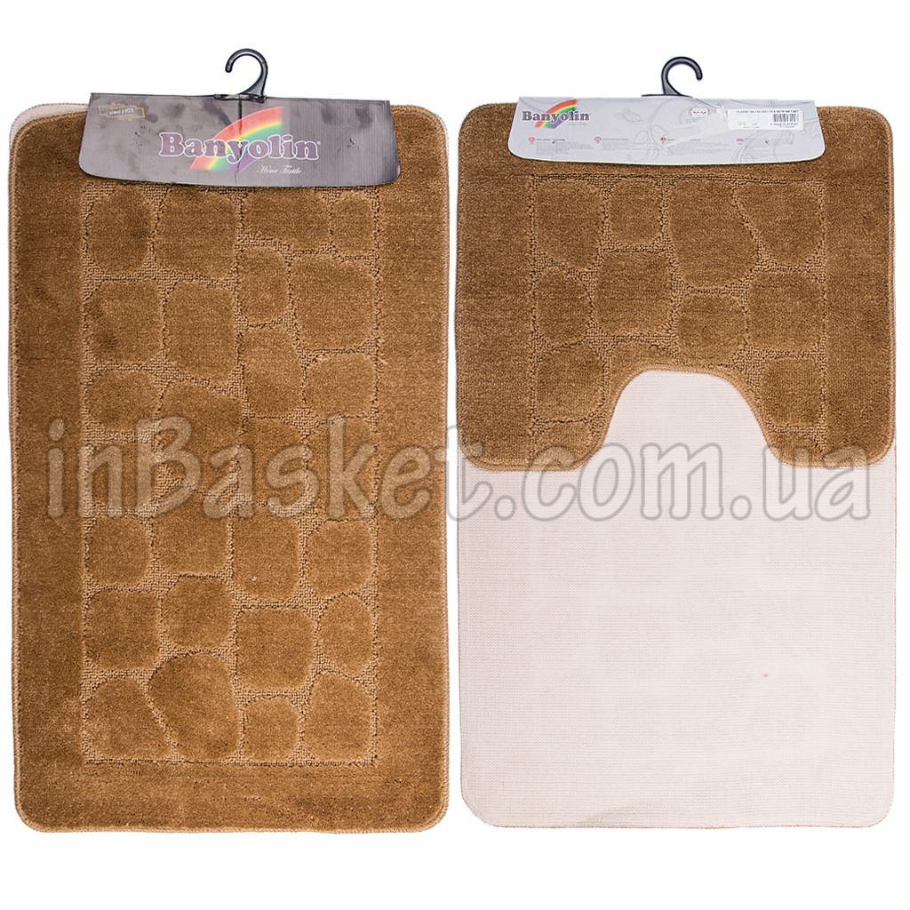 "Комплект ковриков для ванной ""Brown stone"""