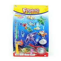 Детский игровой набор Рыбалка 6301 удочка с магнитом