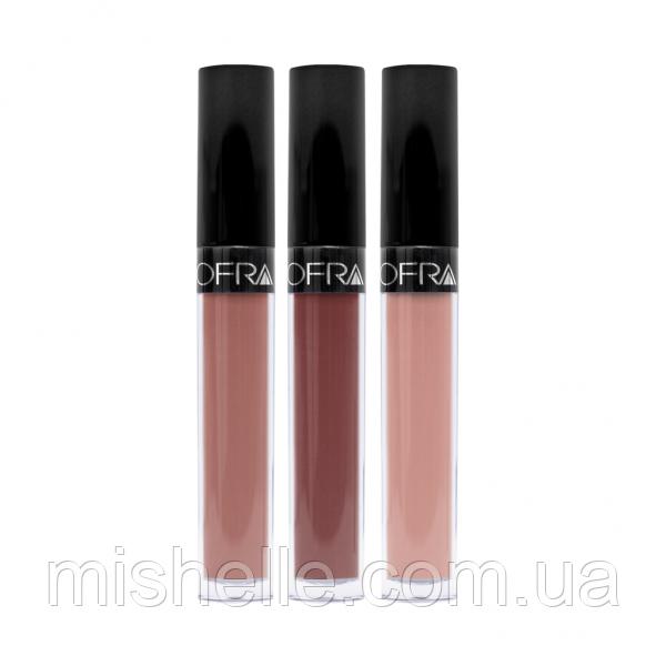 Жидкая Матовая Помада Оfra Long Lasting Lliquid Lipstick( Офра  Лонг Ластинг Ликвид Липстик)