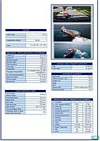 Fast crew supply boat, скоростной судно снабжения