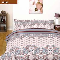 Комплект постельного белья ранфорс-платинум 12105