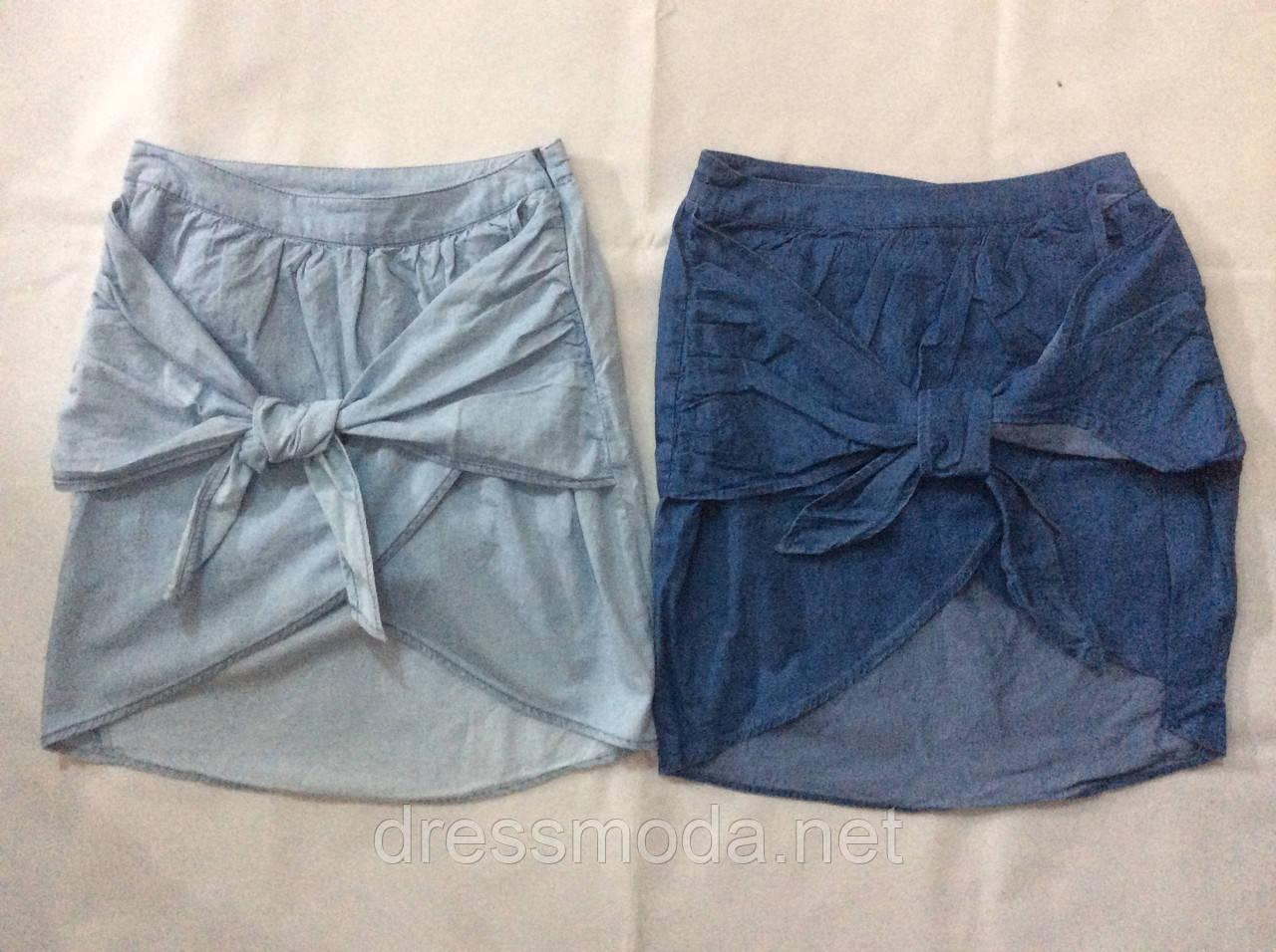 Джинсовые юбки для девочек Glo-Story 152-170 p.p.
