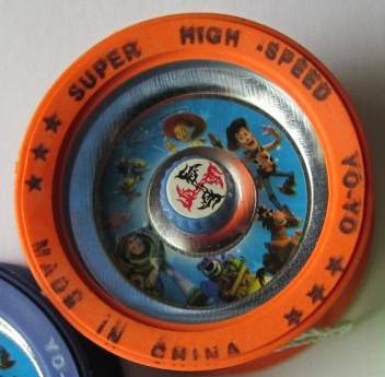 Игрушка Yo-Yo с подшипником, металлическая orange (оранжевый)