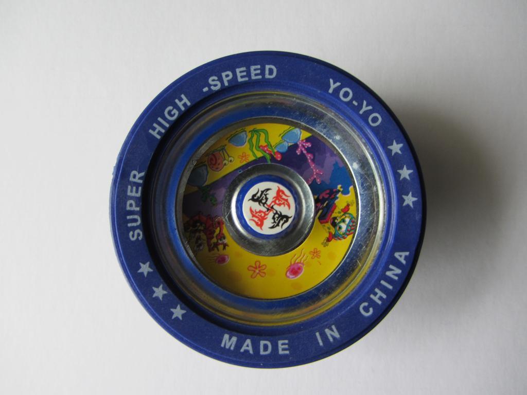Игрушка Yo-Yo с подшипником, металлическая blue (синий)