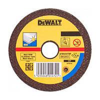 Круг отрезной по металлу INOX 115х22.2х1.0мм DeWALT DT3442-QZ (США/Тайвань)