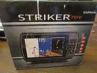 Эхолот Garmin Striker 7dv CHIRP DownVu картплоттер дисплей 7'' + GPS , фото 1