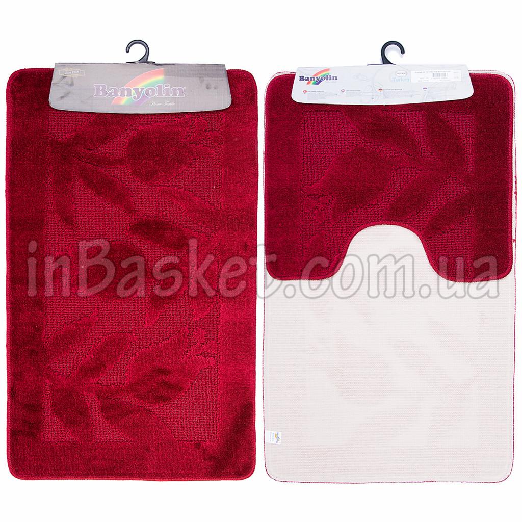 """Комплект ковриков в ванную с коротким ворсом """"Scarlet"""""""