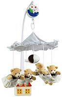 Плюшевый мобиль Canpol babies  на кроватку Медвежата