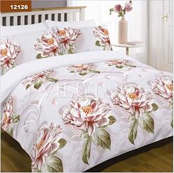 Комплект постельного белья ранфорс-платинум 12126