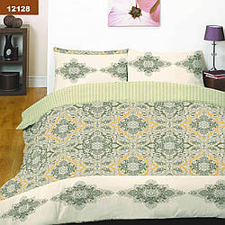 Комплект постельного белья ранфорс-платинум 12128