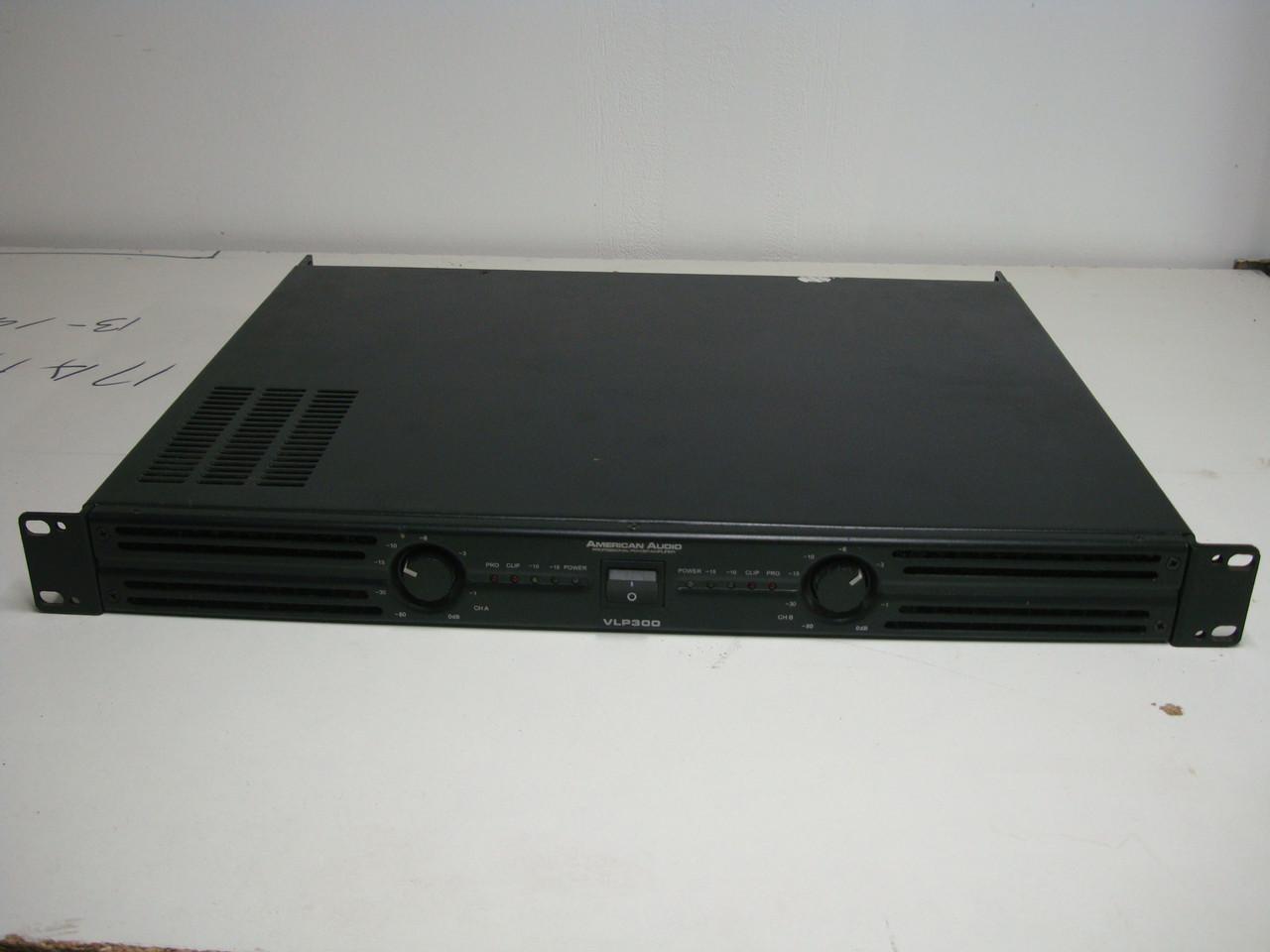 Усилитель Б/у American Audio VLP 300