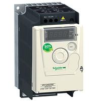 ATV12H037M2TQ Преобразователь частоты ATV12H037M2TQ 0.37кВт 240В 1ф