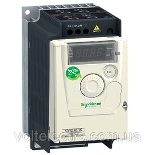 ATV12H037M2TQ Перетворювач частоти ATV12H037M2TQ 0.37 кВт 240В 1ф