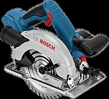 Аккумуляторная циркулярная пила Bosch GKS 18V-57 Professional (соло картон), 06016A2200