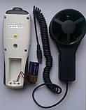 Анемометр FLUS ET-950 (0,2-45 м/с; від -30 до +60 С) з виносною крильчаткою, фото 3