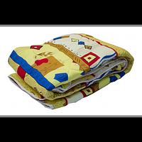 Одеяло силикон полиэстер 160 г/м2,1,5 142 х 205, цв. лето