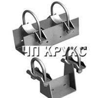 Опоры трубопроводов стальные подвижные тип ОПХ1, ОПХ2,ОПХ3