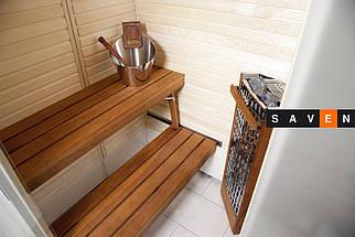 Сауна для ванной комнаты Harvia SmartFold правая, фото 3