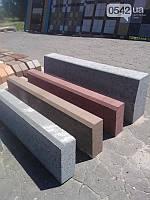 Дорожные элементы - бордюр парковый