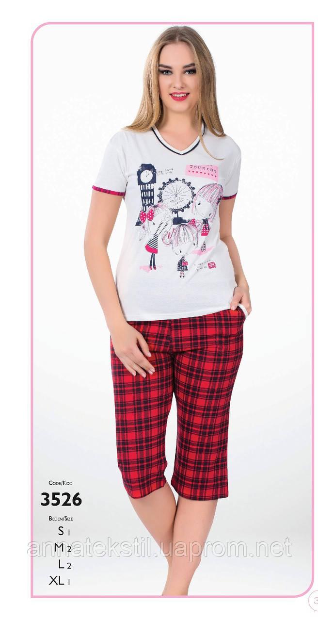 Пижама капри женская FAWN арт:3526
