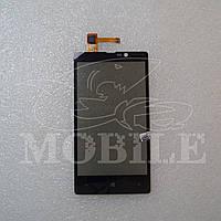 Сенсор Nokia 820 Lumia black