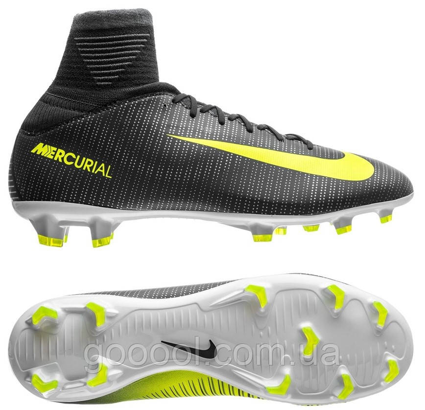 Детские футбольные бутсы Nike Youth Mercurial SuperFly V CR7 FG 852483-376