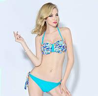 Яркий летний женский раздельный купальник PUSH-UP. Отличное качество. Доступная цена. Дешево. Код: КГ737