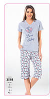 Пижама капри женская FAWN арт:3518
