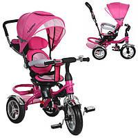 Детский трехколесный велосипед M 3114-6A Turbo Trike, розовый