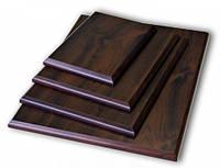 Подложка деревянная прямоугольная с отверстием для крепления (10х15см)