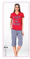 Пижама капри женская FAWN арт:3514